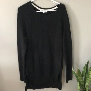 VS Tunic sweater with pockets black